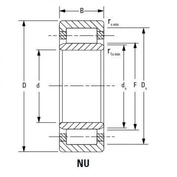 Bearing NU20/630EMA
