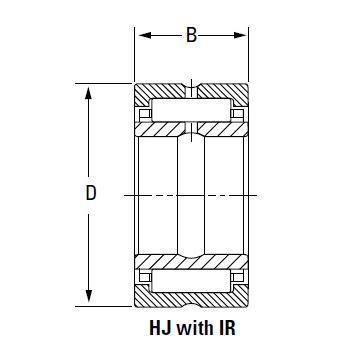 Bearing HJ-8811248 IR-728848