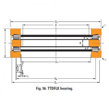 Bearing Thrust race single T1080fa