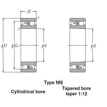 Bearings Cylindrical Roller Bearings NNU3856
