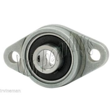 RCSMRFZ-25mmL Bearing Flange Insulated Pressed Steel 2 Bolt 25mm Rolling