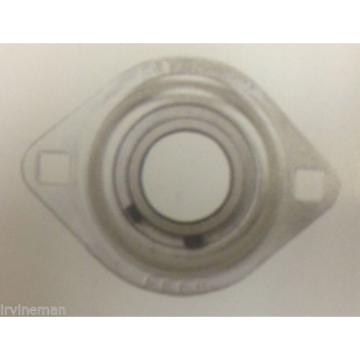 "FHSPFLZ206-17 Bearing Flange Pressed Steel 2 Bolt 1 1/16"" Bearings Rolling"
