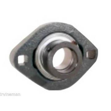 "FHFLCTQ205-15G Bearing Flange Ductile Flush 2 Bolt 15/16"" Bearings Rolling"