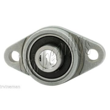RCSMRFZ-25mmS Bearing Flange Insulated Pressed Steel 2 Bolt 25mm Rolling
