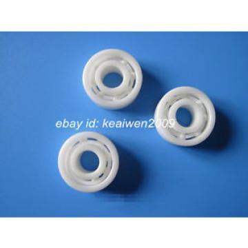 MR106 Full Ceramic Bearing  ZrO2 Ball Bearing 6x10x3mm  Zirconia Oxide Fishing