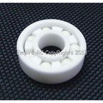 (2 PCS) 696 (6x15x5 mm) Full Ceramic Zirconia Oxide Ball Bearing (ZrO2) 6*15*4