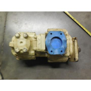 NEW HYDRECO DOUBLE PUMP # 2433A1C2L, 1916A6D1L