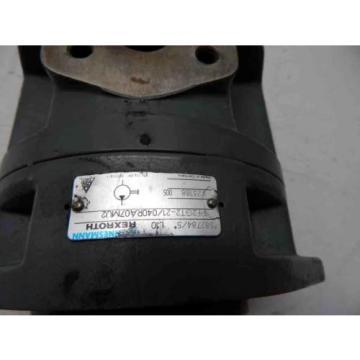 Rexroth Hydraulic Pump 582784/5 L10 1PF2GT2-21/040RA07MU2V23188