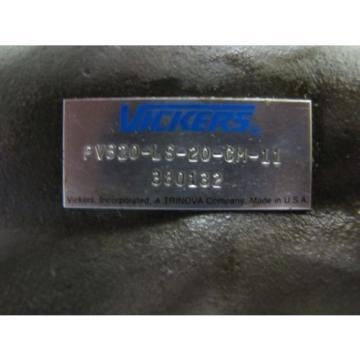 VICKERS PVB20-LS-20-CM-11 PVB20LS20CM11 HYDRAULIC PISTON PUMP