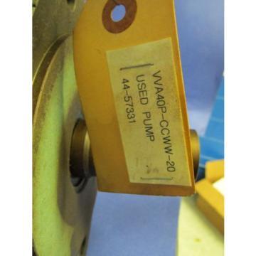 VICKERS HYDRAULIC PUMP VVA409 -CCWW-20