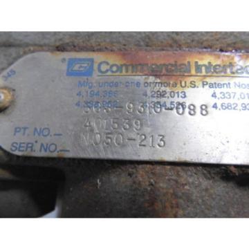 Commercial Intertech 401539 Hydraulic Pump ! WOW !