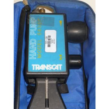 TRANSCAT  5835P Pressure  Hand Pump with Case- Free Shipping