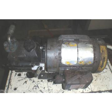 Parker Hydraulic Pump PVP1610B7L212_PVP161OB7L212_with Motor