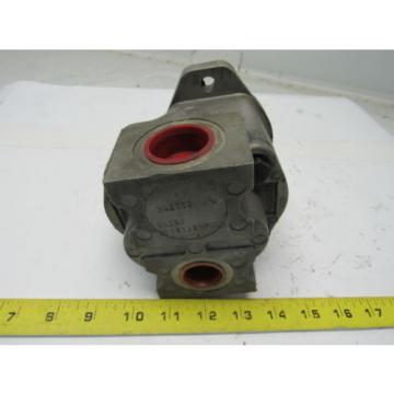 "Rexroth S20S11EH51L Rotary Hydraulic Pump 1"" Inlet 3/4"" Outlet 3/4"" 11 Spline Sh"