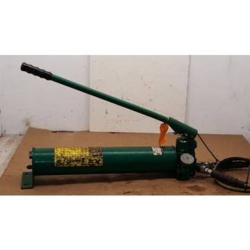 Simplex P300D Heavy Duty 2 Speed Double Acting Hydraulic Hand Pump   76331