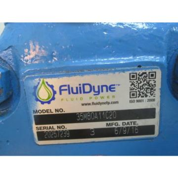 NEW FLUIDYNE VANE PUMP 35M80A11C20
