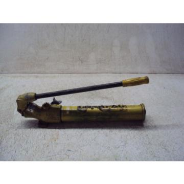 ENERPAC P14 PUMP CAP TONS PSI 8650  USED