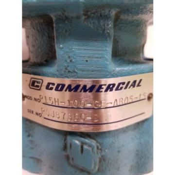 Commercial Shearing Pump P15H-100-GE-AB05-15