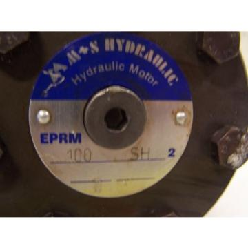 "M+S HYDRAULIC PUMP / MOTOR EPRM100SH2 EPRM-100-SH-2    1"" SPLINED SHAFT"