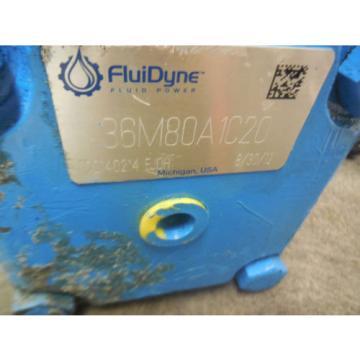 NEW FLUIDYNE VANE PUMP 36M80A1C20
