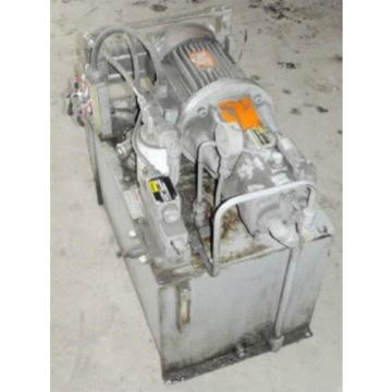Parker/Leroy Somer Hydraulic Pump 5210-1 _ 52101 _ B22HT4D0 _ PV P16305R210