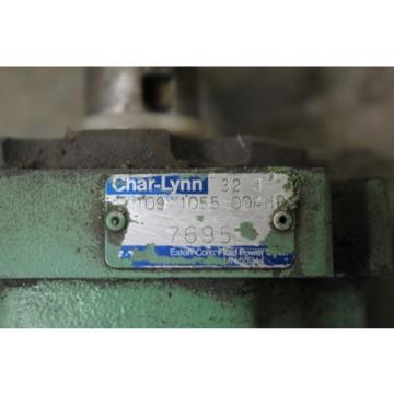 "REBUILT CHAR-LYNN EATON 32 3 109 1055 004HB HYDRAULIC PUMP 1-1/4"" SHAFT DIA."