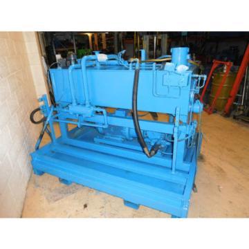 Vickers PVH74QPLRFIS11-C1V4T4-31 20HP 34GPM Hydraulic Power Unit