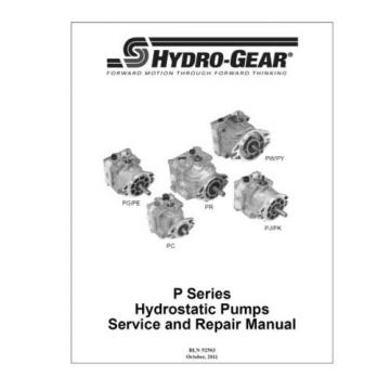 Pump PW-JKBA-GY1G-XXXX/109-7543 HYDRO GEAR OEM FOR TRANSAXLE OR TRANSMISSION