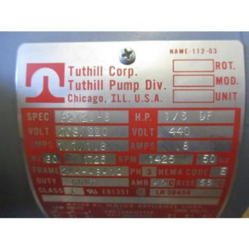 TUTHILL CORP PUMP MOTOR 2M4-48412