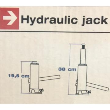 Car + Hydraulic Car Jack 5 Tons Stamp Jack Stamp Lifter lifts up to 15 inches