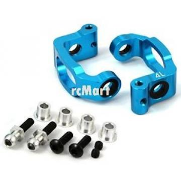 Yeah Racing Aluminum Bearing C-Hub 4 Deg. Blue Tamiya TA05IFS Car #TA05IFS-005BU