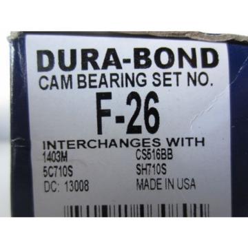 F-26 Cam Bearing Set Ford Car Truck Van SUV 351c 351m 400 V8 1970-82 SH710S 1403