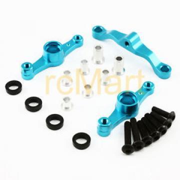 Yeah Racing Aluminum Bearing Steering Set Blue Tamiya TT-01E RC Car #TT01E-042BU