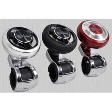 Car Power Handle Steering Wheel Knob Suicide Spinner with Ball bearing Silver