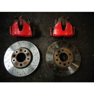 ASTRA 280mm DIMPLED & GROOVED FRONT BRAKE KIT.Car Breaking