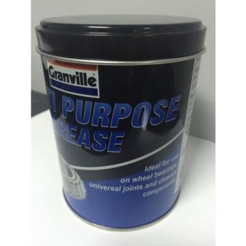 GRANVILLE MULTI PURPOSE GREASE 500g TIN BEARINGS JOINTS CHASSIS CAR HOME GARDEN