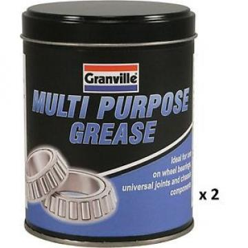 2 x Granville Multi Purpose Grease For Bearings Joints Chassis Car Home Garden