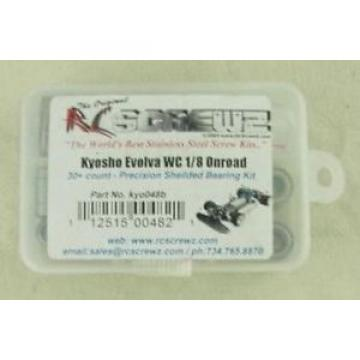 Kyosho Evolova WC 1/8th Scale On-Road Car 30+ Precision Shielded Bearing Kit