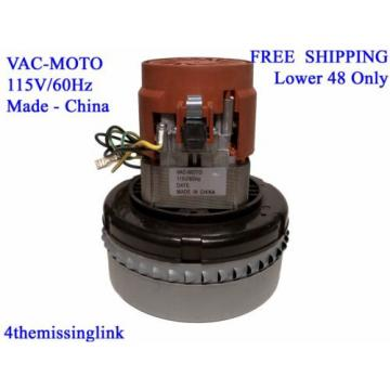 NEW CAR WASH VACUUM COMMERCIAL QUALITY REPLACEMENT MOTOR 5.7 DOUBLE BALL BEARING