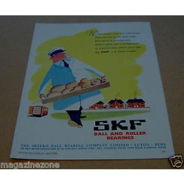 SKEFKO Ball Bearing Company SKF original magazine advert from/dated  April 1959