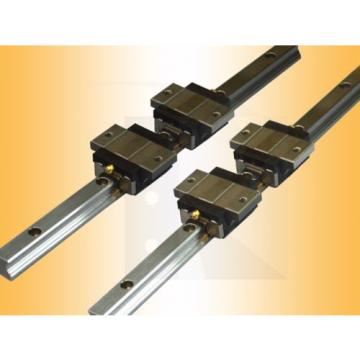 Linear Guide - Recirculating ball bearing - ARC20-FS (rail + car) -