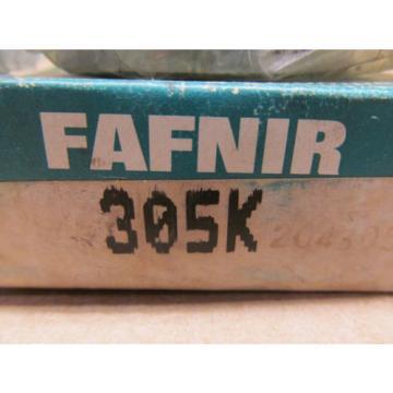 1 NIB 305K FAFNIR RADIAL/DEEP GROOVE BALL BEARING-METRIC 25MM ID 62MM OD 17MM W