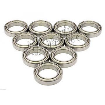 10x 6900-ZZ Ball Bearings 10mm x 22mm x 6mm Double Metal Shielded Seal Radial 2Z