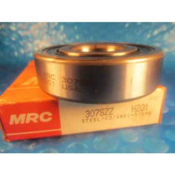 MRC 307SZZ, 307 SZZ, Single Row Radial Bearing(=2 SKF,NSK 6307 2RS,Fafnir 307PP)