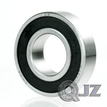 4x 63007-2RS Radial Ball Bearing Double Sealed 35mm x 62mm x 20mm Rubber Shield