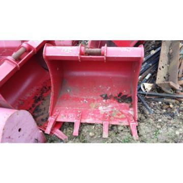 "Takeuchi TB135 30"" 750 mm excavator digging Bucket D/W125 Pin40 c/c190, £200+vat"
