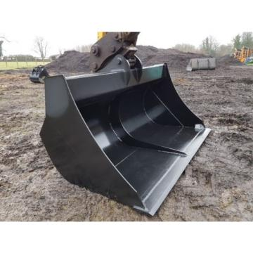 JSA 2.3m High Capacity excavator 13-16 ton compost and wood chip bucket JCB Case