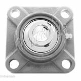 "SSUCF206-18 Stainless Steel Flange 4 Bolt 1 1/8"" Bore Mounted Bearings Rolling"